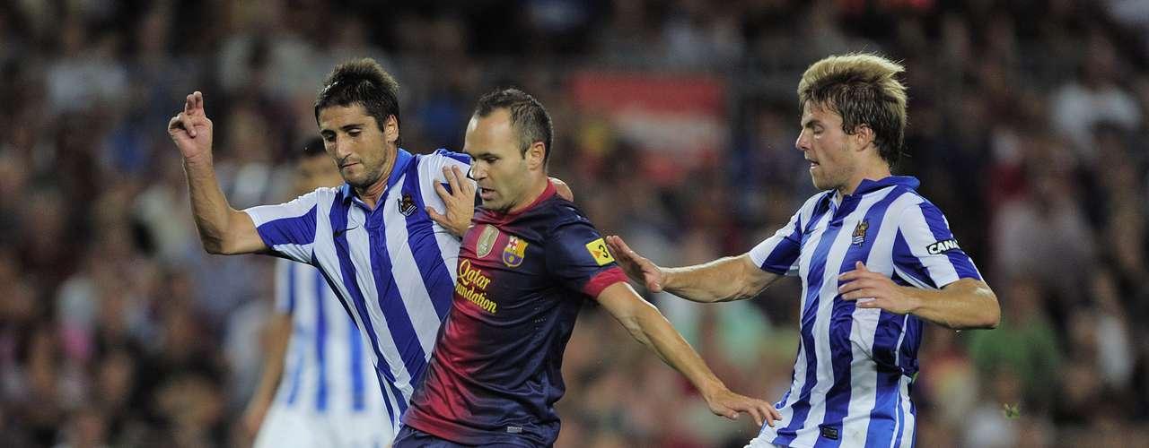 Iniesta y Xavi fueron las bujías que el Barça necesitó.