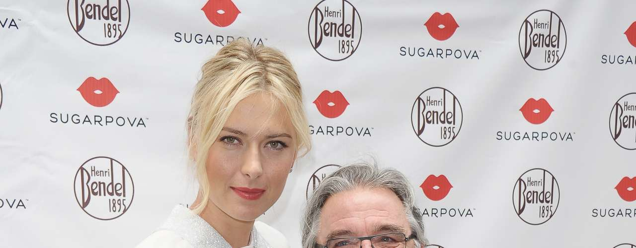 Sharapova and Henri Bendel.