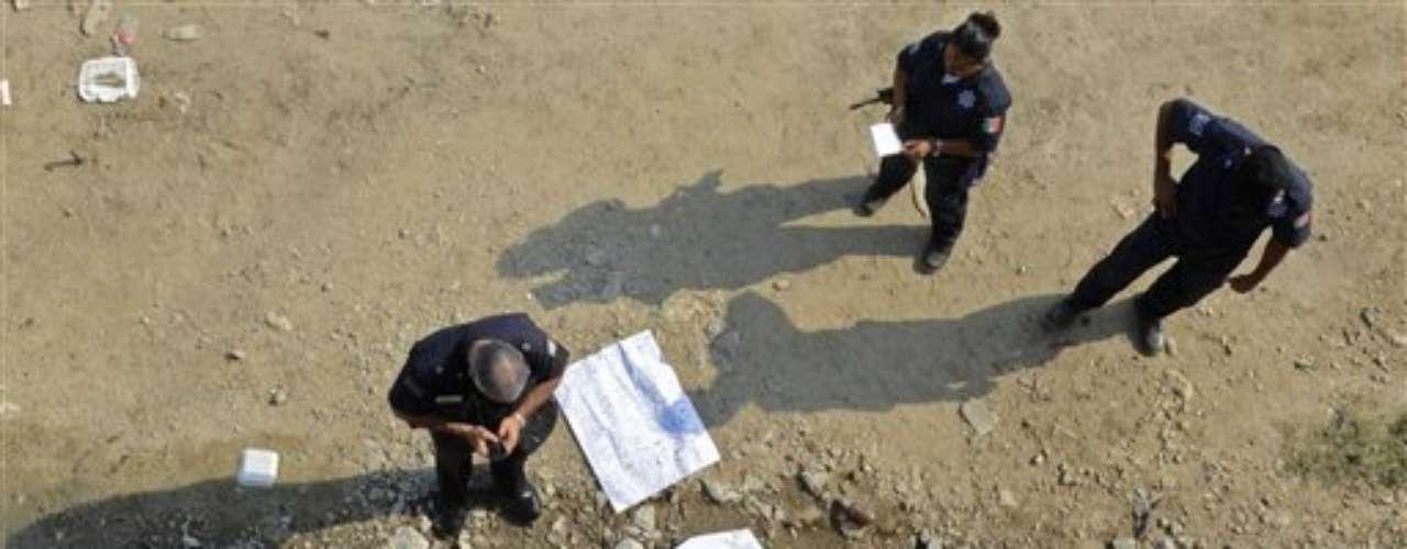 Tras este estado se situaron Guerrero y Sinaloa, con 71 homicidios por cada 100.000 habitantes, seguidos por Durango (65), Nayarit (53) y Nuevo León (46).
