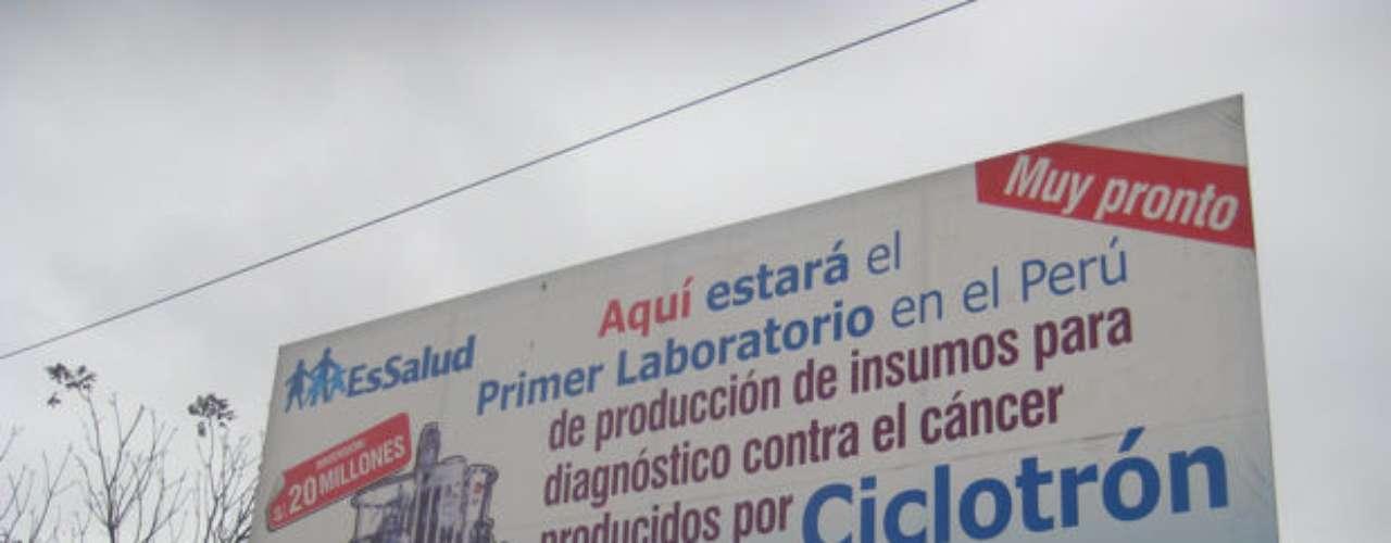 Aquí estará ubicado el laboratorio que albergará el ciclotrón.