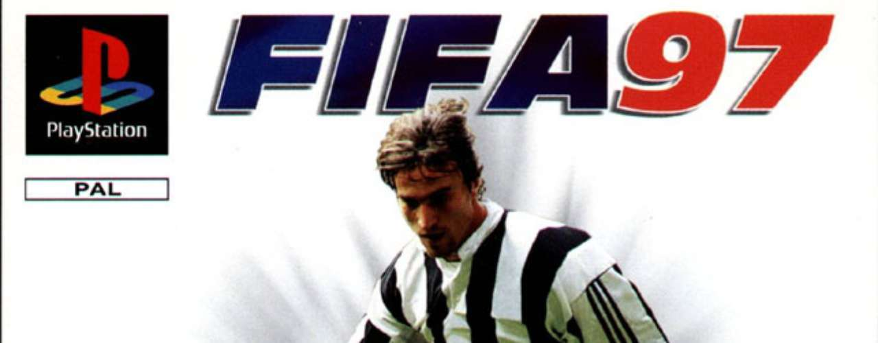 FIFA made its first videogame in 1996. France's David Ginola was first to be on the cover.