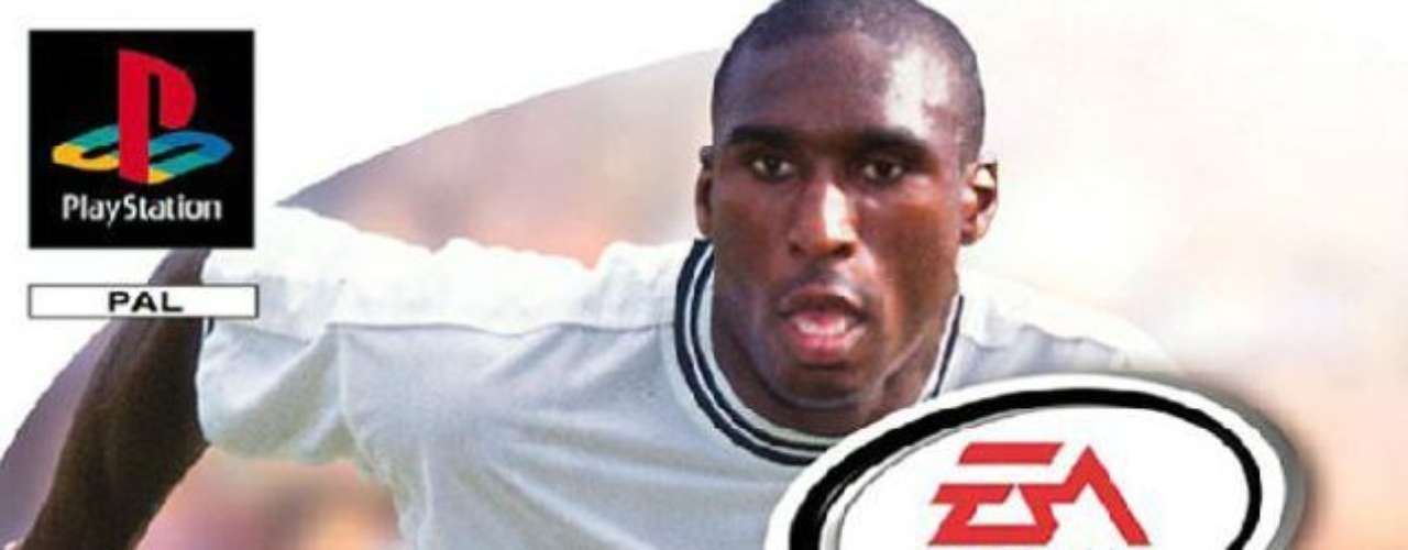Sol Campbell was the cover boy for England in 1999. Pep Guardiola, Vincezo Montella and Emmanuel Petit were on the regional covers.