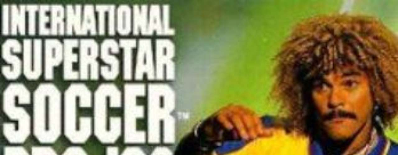 Carlos Valderrama was the first famous soccer player to appear on the cover of Pro Evolution Soccer (PES).