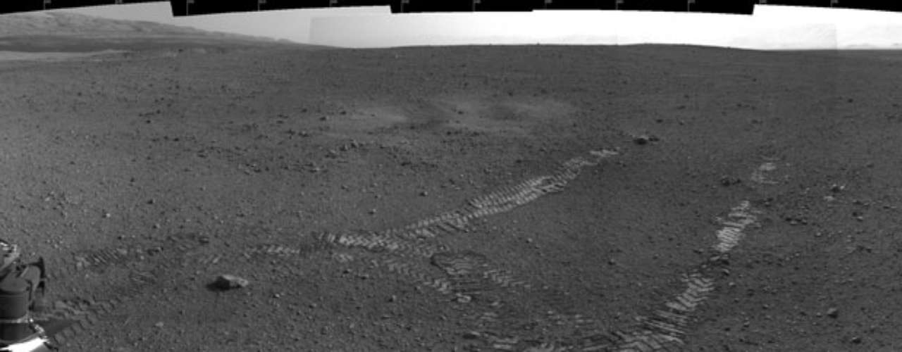 La superficie de Marte ya cuenta con el surco de \