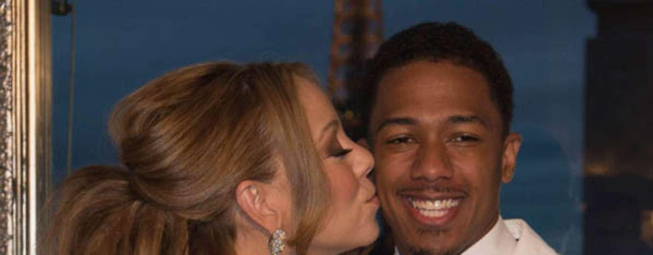 4. Mariah Carey y Nick Cannon. De los 54 millones de copias de discos que han vendido, 53.77 millones corresponden a Carey.