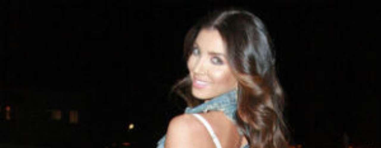 Melissa Molinaro, cantante, bailarina y actriz, se le ha relacionado en los últimos meses con el corredor de Miami Dolphins, Reggie Bush.