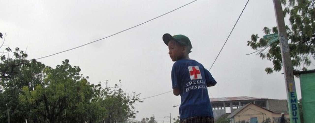 Isaac, en su paso por República Dominicana dejó varias inundaciones, a pesar de ser una tormenta tropical