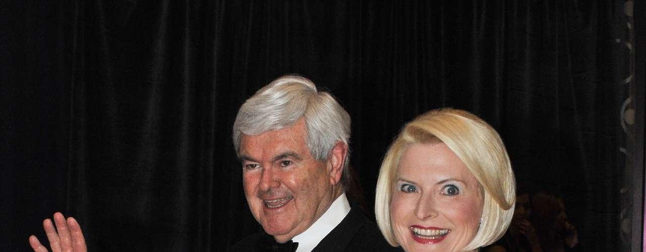 Callista es la tercera esposa de Gingrich con quien lleva casado desde el 2000.