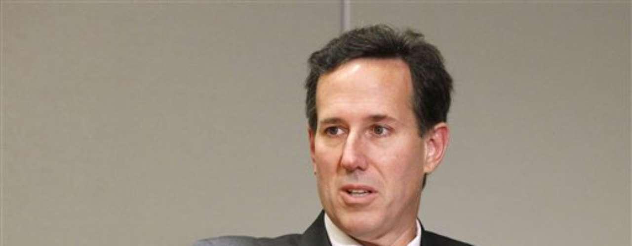 Rick Santorum fue otro de los candidatos republicanos que quisieron ser elegidos para luchar por la presidencia en 2012. Fue una gran sorpresa ya que fue quien más oposición consiguió darle a Romney.