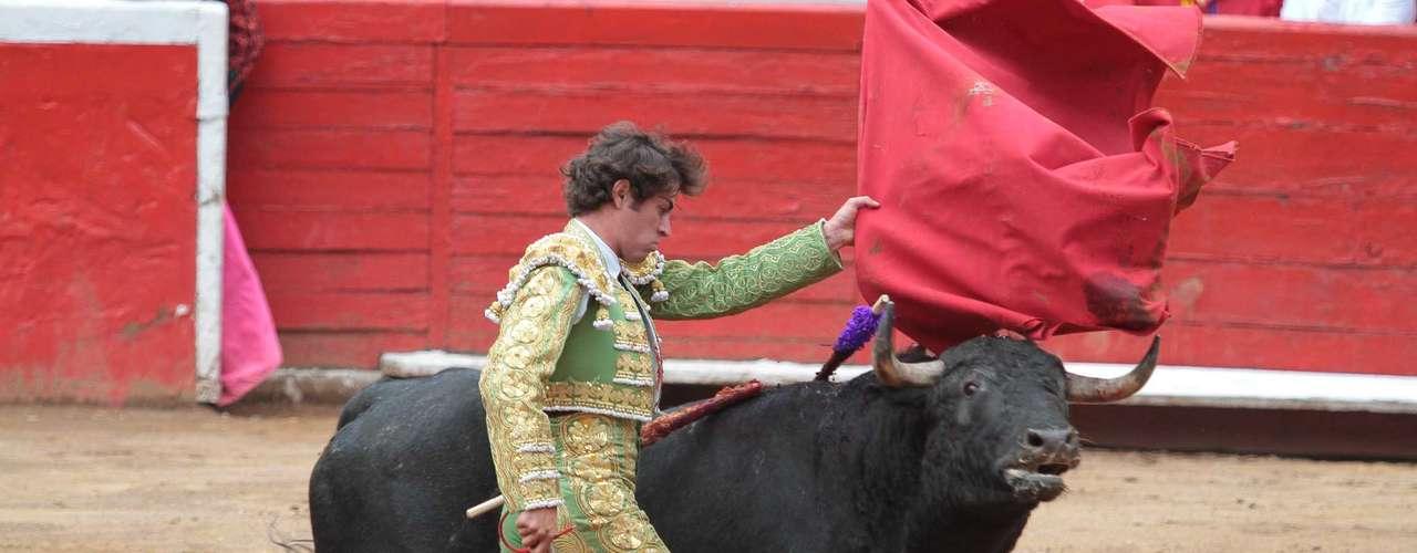 El debutante español Salguero lidió a \