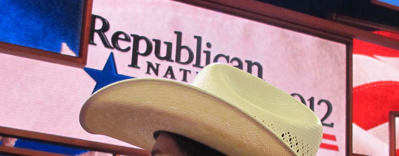 Los sombreros serán toda una postal en esta Convención que se extenderá hasta el jueves, cuando Mitt Romney acepte la nominación y brinde su discurso.
