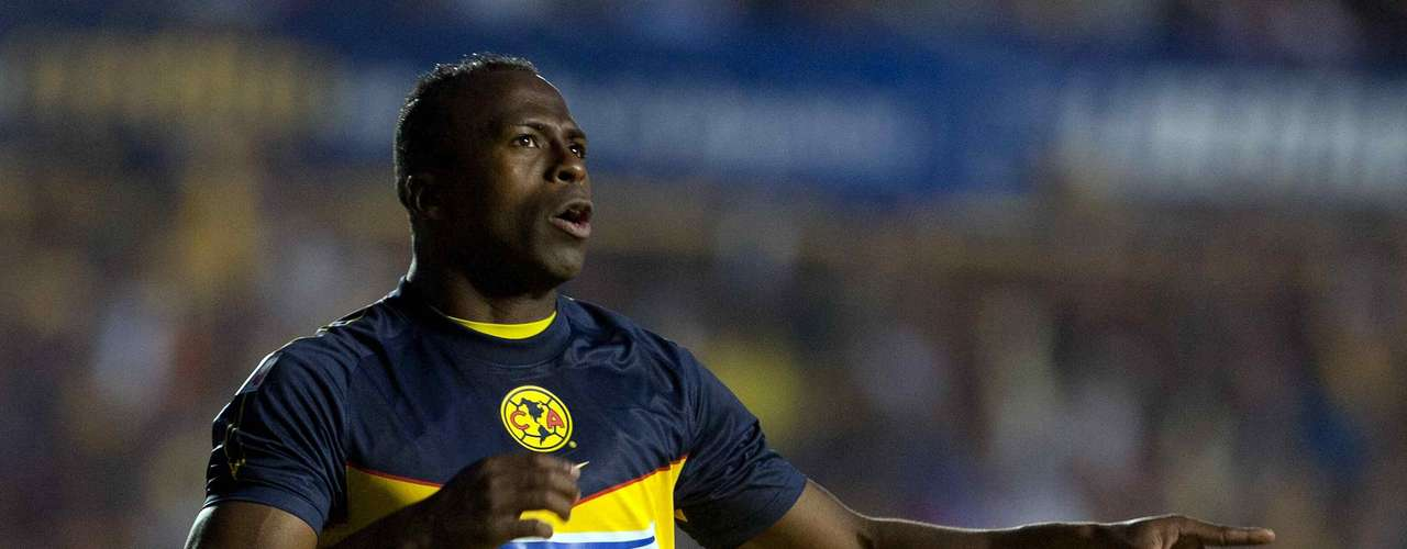 Liborio Sanchez, of Queretaro, also had the honor of stopping the striker's kick in the Clausura 2012. Fortunately for the Ecuadorian, America would win the game 2-0.