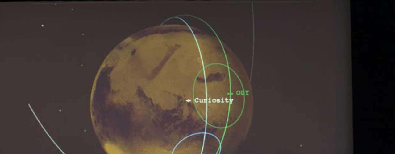 La reproducción de la voz grabada de Bolden, que se envió de la Tierra al Curiosity, sonó en el planeta rojo y luego se reenvió de vuelta a la Tierra se anunció en una rueda de prensa en el Laboratorio Jet Propulsion, en Pasadena, California, junto con nuevas imágenes obtenidas por el explorador con sus diversas cámaras.