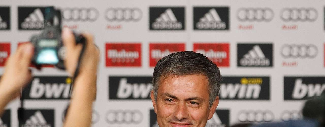 8. Mourinho resigned from Inter and was announced as Real Madrid's new coach May 31, 2010 in Madrid, Spain.
