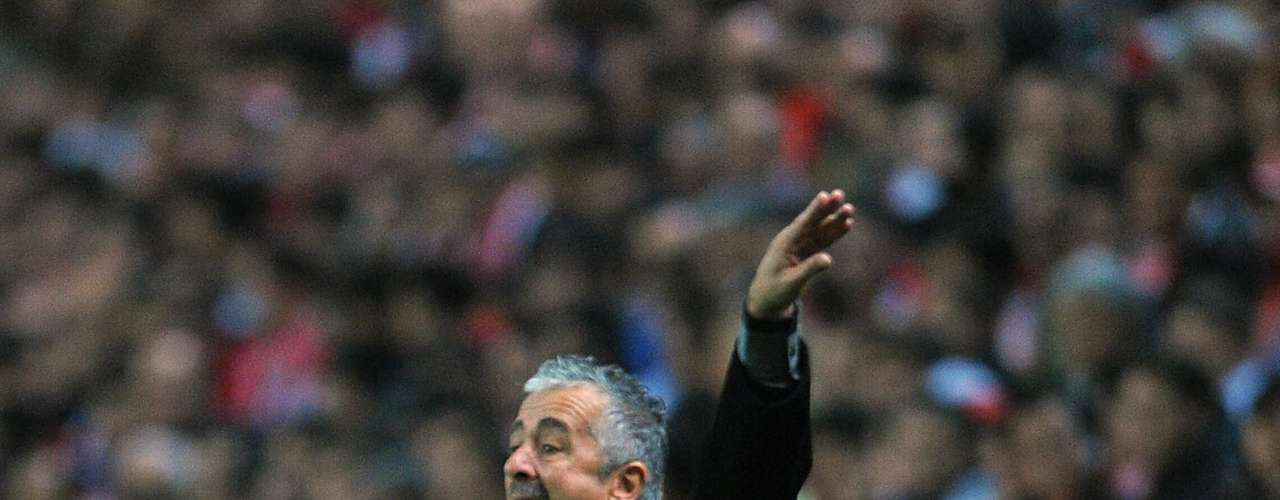 As the manager at Real Madrid, he accused Sporting Gijon of losing a match purposely to Barcelona. Gijón's manager, Manolo Preciado (pictured), said that Mourinho was a scoundrel and a bad person.'