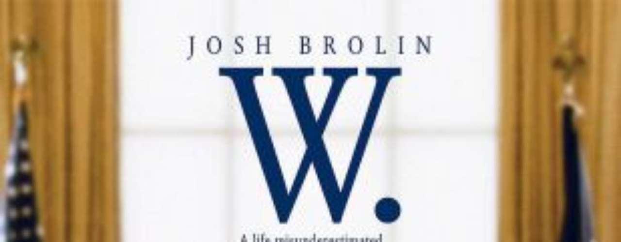 W. (2008)  Es la tercera película biográfica de Oliver Stone sobre un presidente norteamericano, tras \