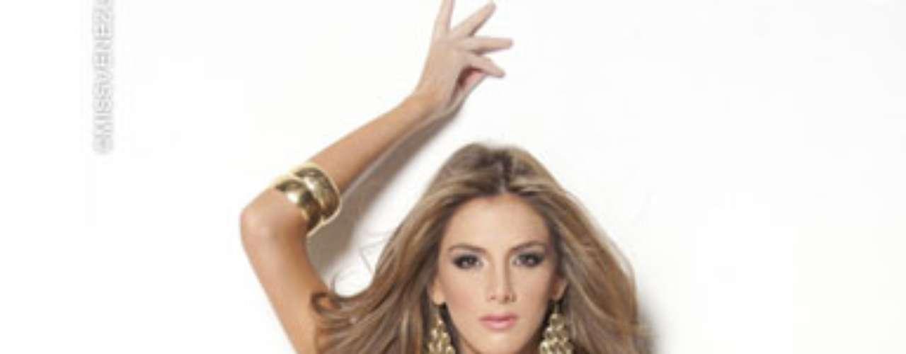 Miss Miranda. Ella es Oriana Lucchese, tiene 21 años de edad, mide 1.77 metros de estatura y estudia tercer semestre de Publicidad, es modelo profesional.