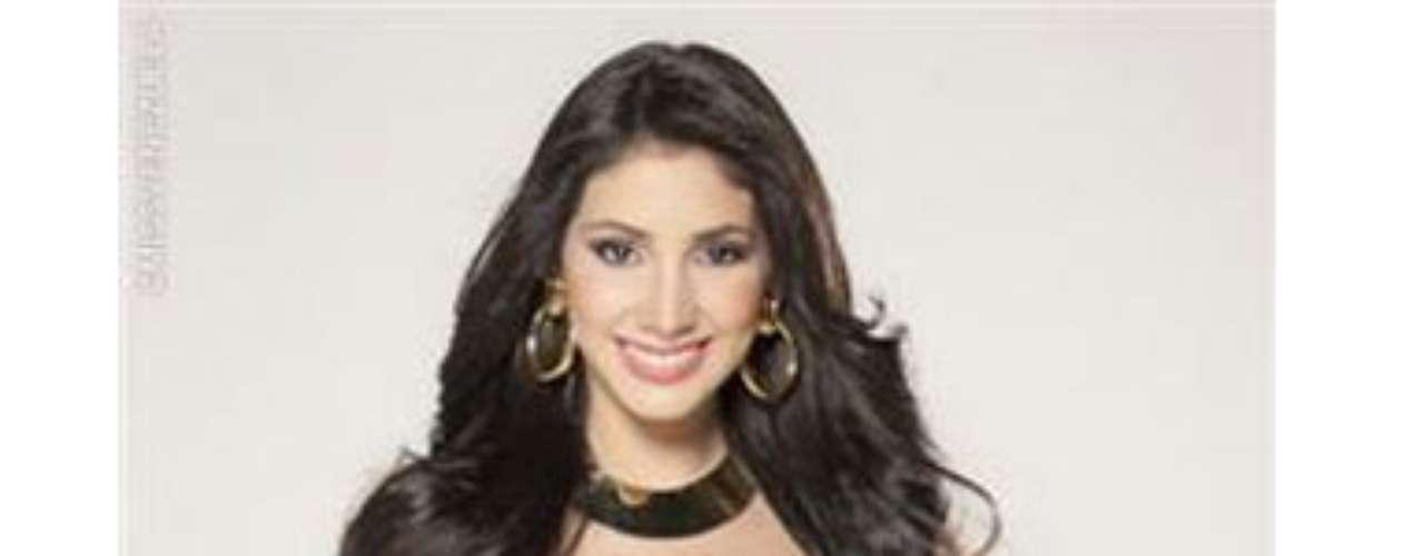 Miss Trujillo. Ella es Desiree Zambrano, tiene 18 años de edad y mide 1.80 metros de estatura y es Bachiller en Ciencias