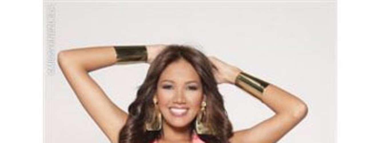 Miss Vargas. Ella es Fanny Moreno, tiene 25 años de edad, mide 1.76 metros de estatura y es T.S.U en turismo.