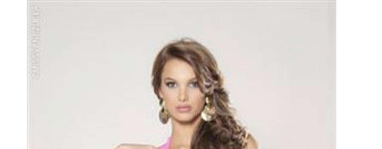 Miss Zulia. Ella es Noedy Olivares Gómez, tiene 19 años de edad, mide 1.78 metros de estatura y estudia tercer semestre Comunicación Social