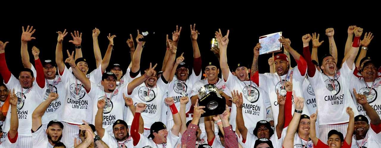 Los nuevos campeones del beisbol mexicano.