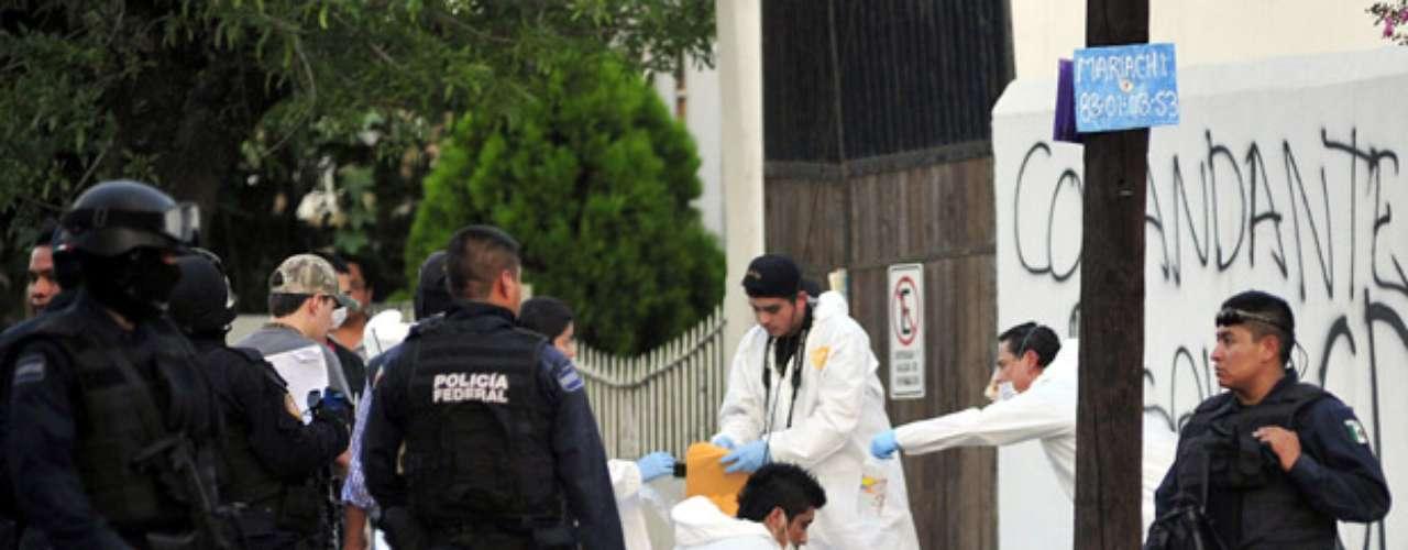 En un primer reporte, el vocero de Seguridad del gobierno de Nuevo León, Jorge Domene, había informado a la prensa sobre el hallazgo entre el martes y el miércoles de \