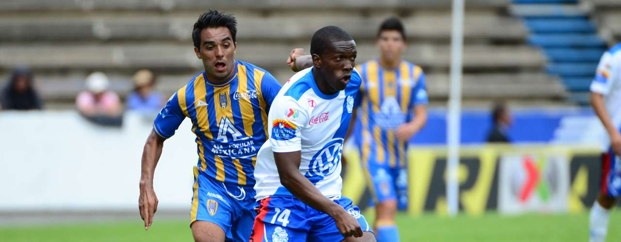 American DaMarcus Beasly has brought power and stability on the left wing for Puebla.