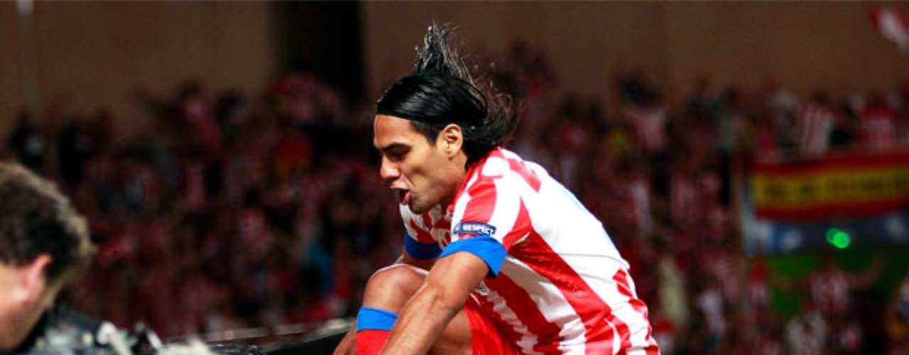 Falcao celebra el primer gol