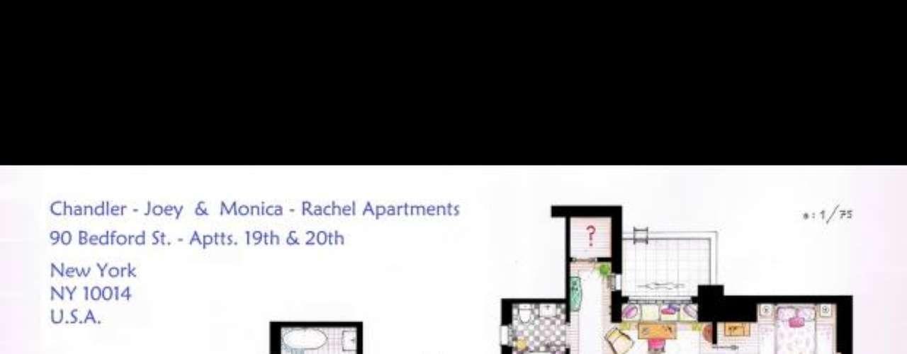 Friends: Tres ilustradores dibujan los planos de los pisos de las series de más éxito en EEUU. Aquí te mostramos el resultado de su trabajo. Llama la atención el gran detallismo de los planos. Los responsables de estos diseños son Iñaki Aliste Lizarralde, Mark Bennett y Brandi Roberts.