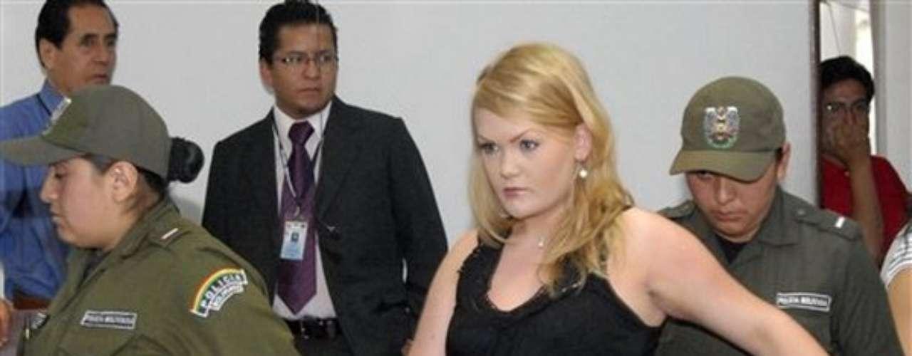 Stina Bredema Hagen, de Noruega, enfrentó a la justicia boliviana, acusada de tráfico de drogas.