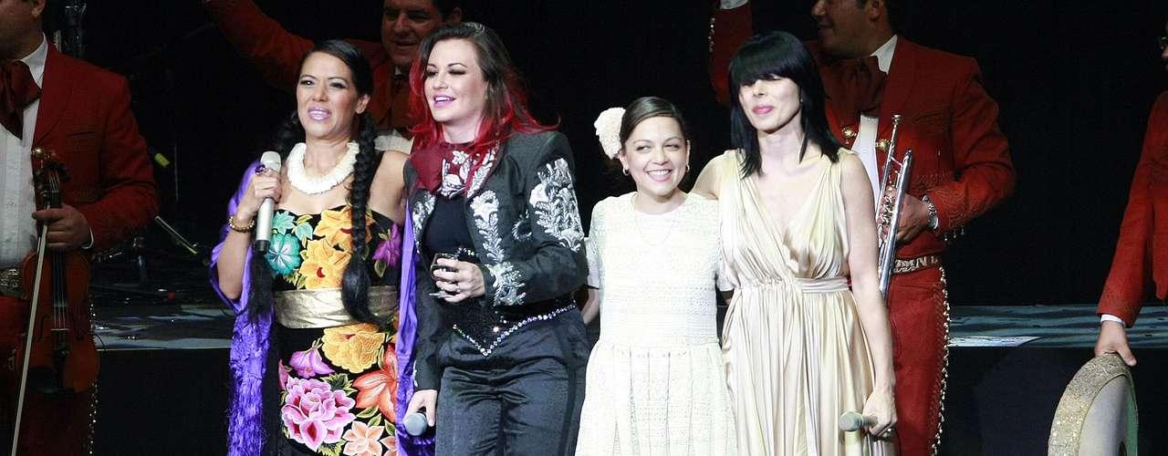 Lila Downs, Natalia Lafourcade, Ely Guerra y María José se presentaron en la Gala de Mujeres Divinas, en el Auditorio Telmex de la ciudad mexicana de Guadalajara, en el marco del Encuentro Internacional del Mariachi y la Charrería.
