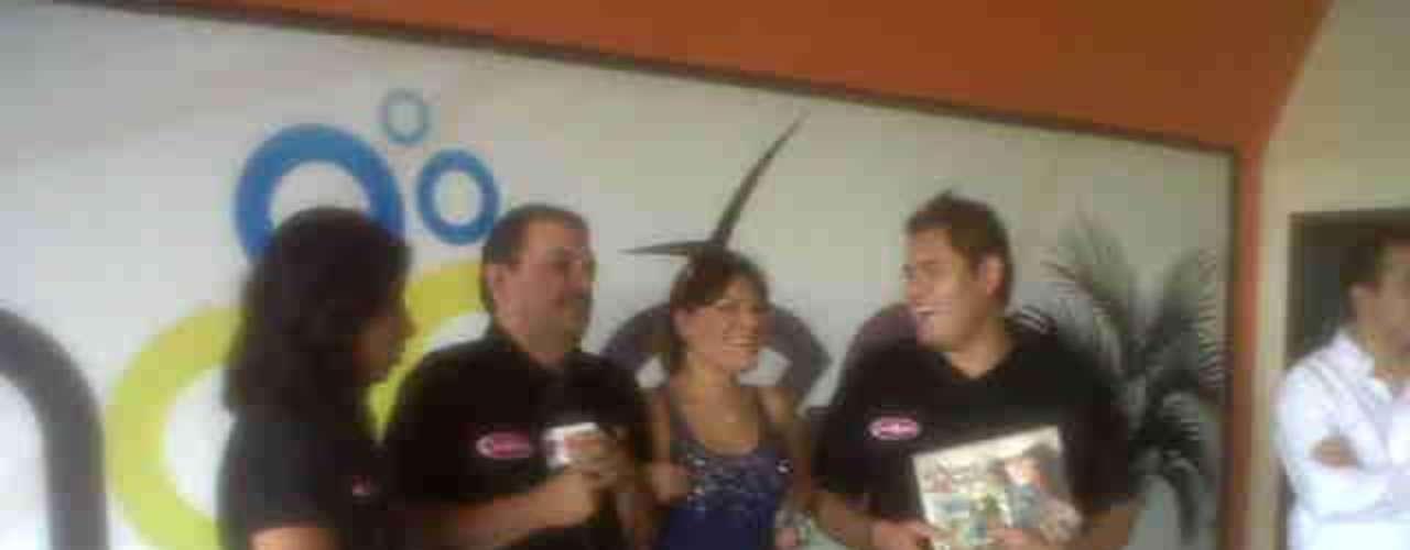 Diana Reyes gozó bastante en una entrevista para el show \
