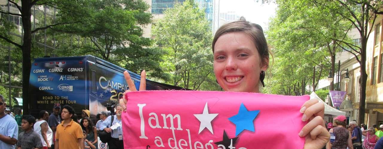 El movimiento Pink también dijo presente en la feria.