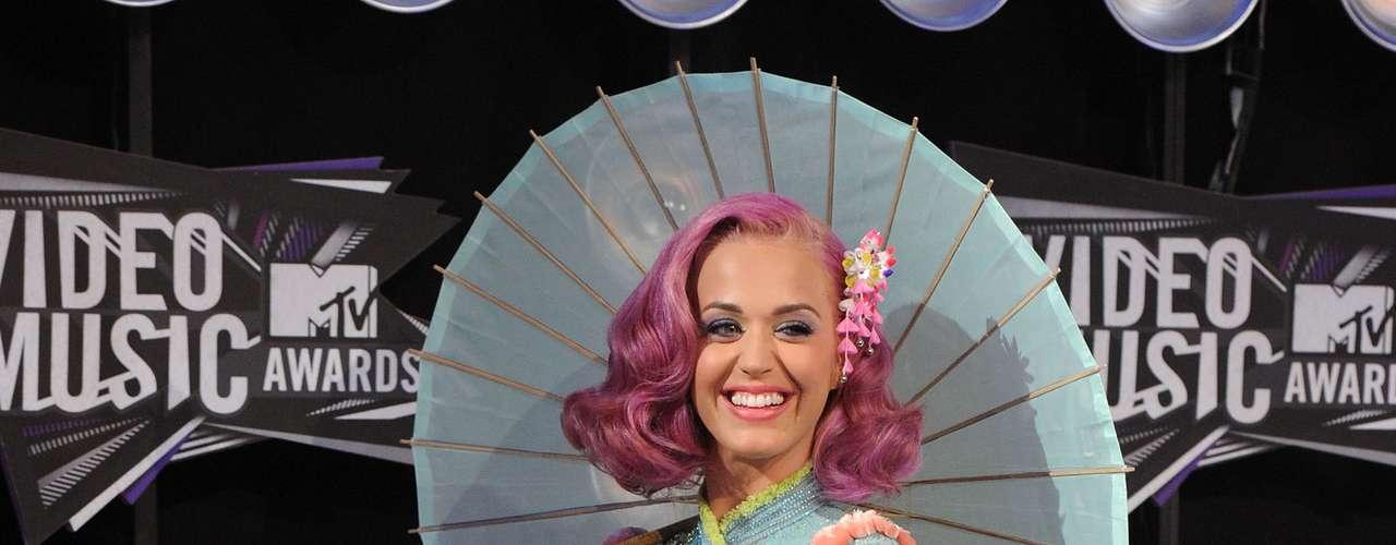 Sin palabras para Katy Perry y su look oriental