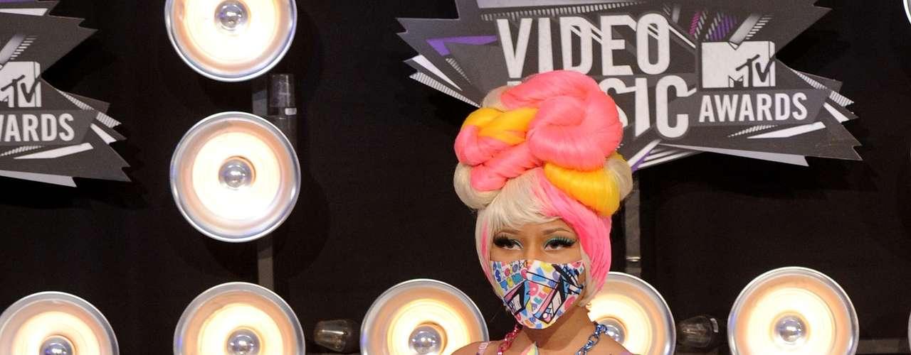 Para la entrega del 2011, Nicki Minaj simplemente nos desquició a todos tratando de investigar o de saber qué era lo que llevaba puesto.