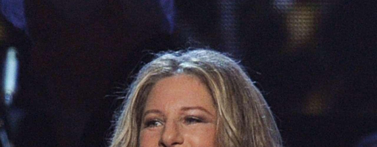 La cantante Barbra Streisand contó a \