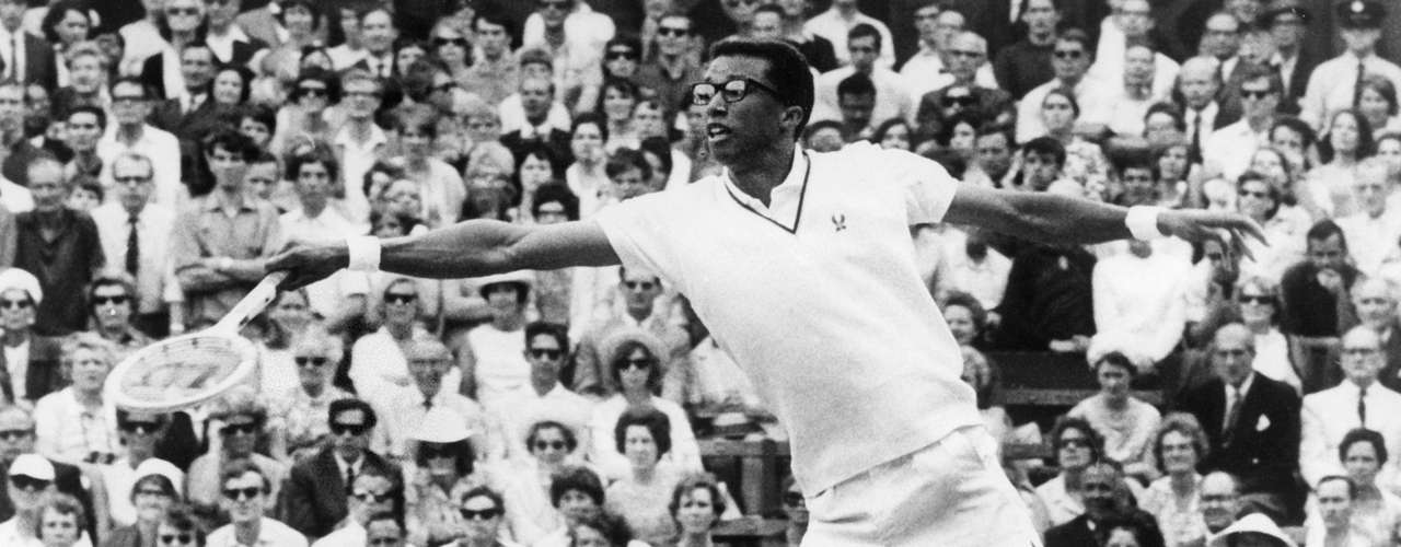 7) Arthur Ashe broke racial barriers when he won the US Open in 1968. He would go on to win Australian Open in 1970 and Wimbledon in 1975. He peaked as world number one in 1969.