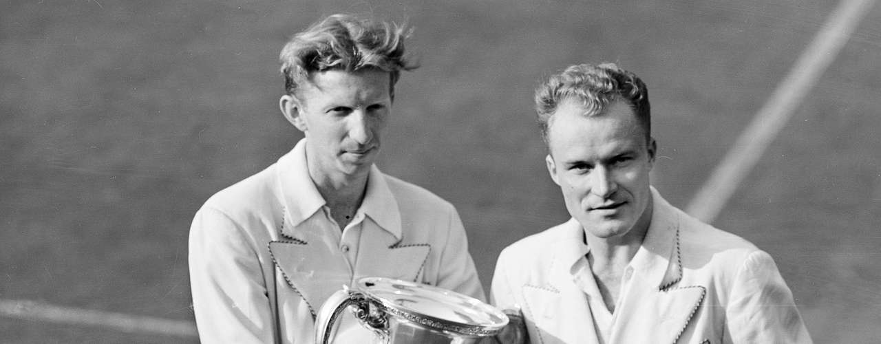 8) Don Budge was world number 1 five years when tennis was still a strictly amateur sport. He won six grand slams, including a career grand slam.