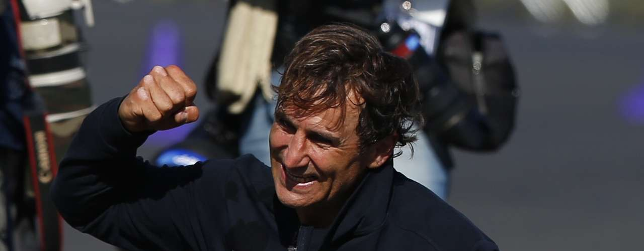 Zanardi was one of the favorites to win the event.