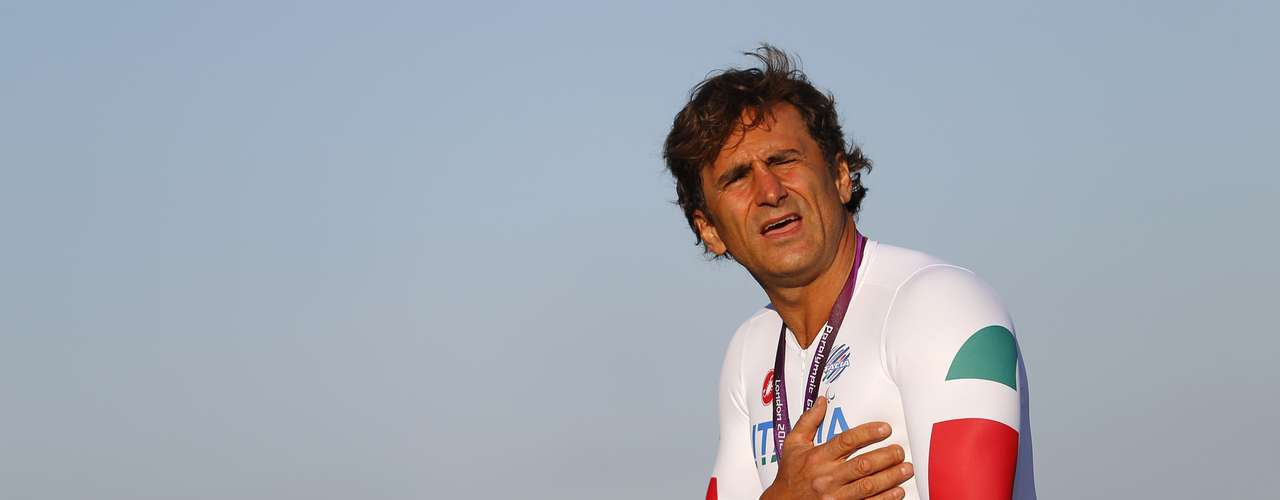 Zanardi, who lost his legs after a horrific crash, committed himself to the sport the past couple of years.