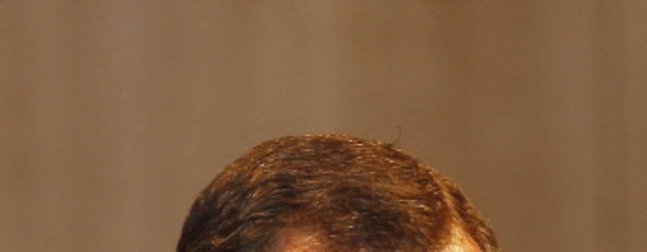 El heredero luce una barba poblada aunque recortada y con alguna que otra cana.
