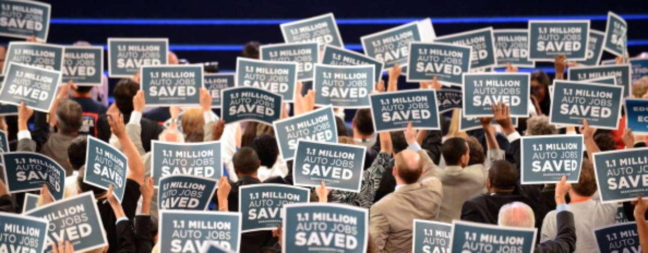 Hay dos temas que desde el inicio de la convención, fueron señalados en varios discursos. La idea de emparentar a Obama con \