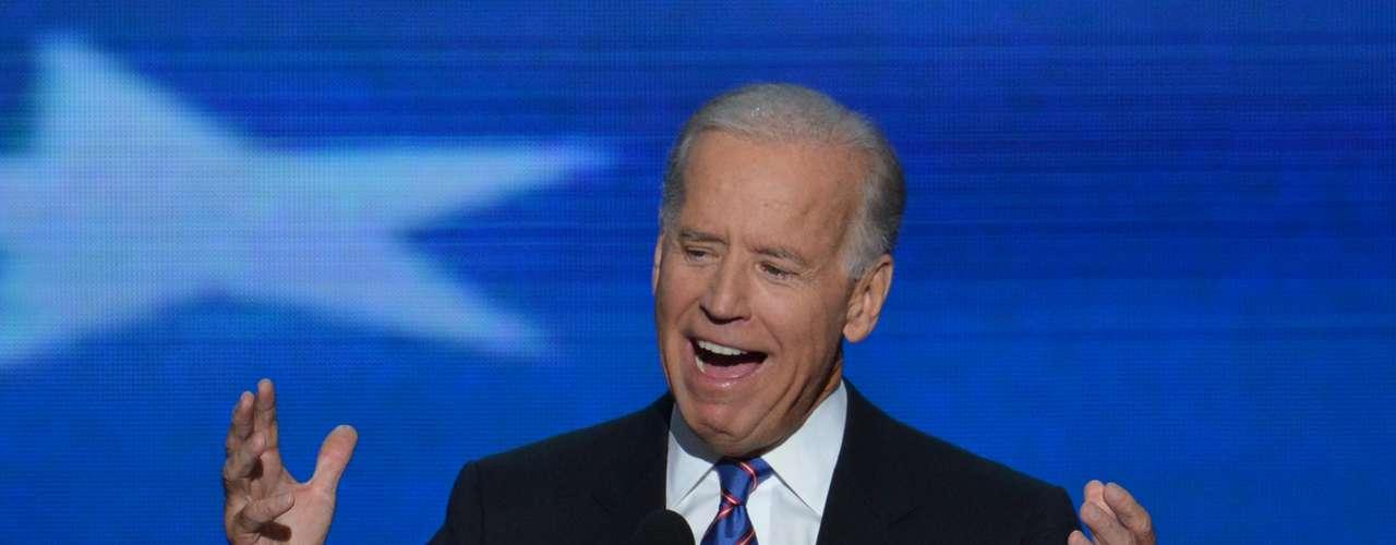 El vicepresidente de EE.UU., Joe Biden, que fue nominado oficialmente como candidato a la vicepresidencia, se comprometió a seguir adelante con el presidente Barack Obama para garantizar la prosperidad del país, \