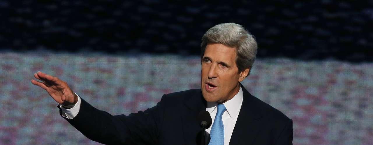 El senador John Kerry aseguró que Estados Unidos necesita el liderazgo de un presidente \