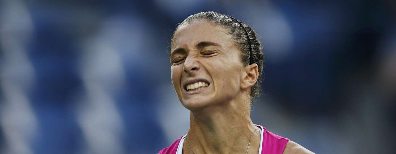 Sara Errani found, as many before her, that Williams is unbeatable in New York.