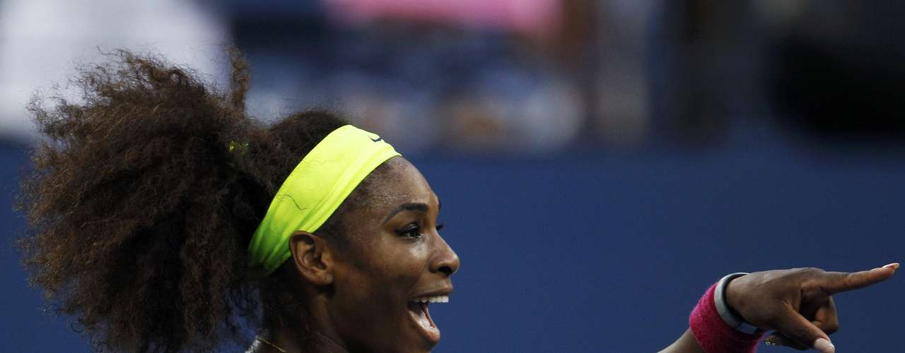 Williams enters as the heavy favorite against Victoria Azarenka in the final.