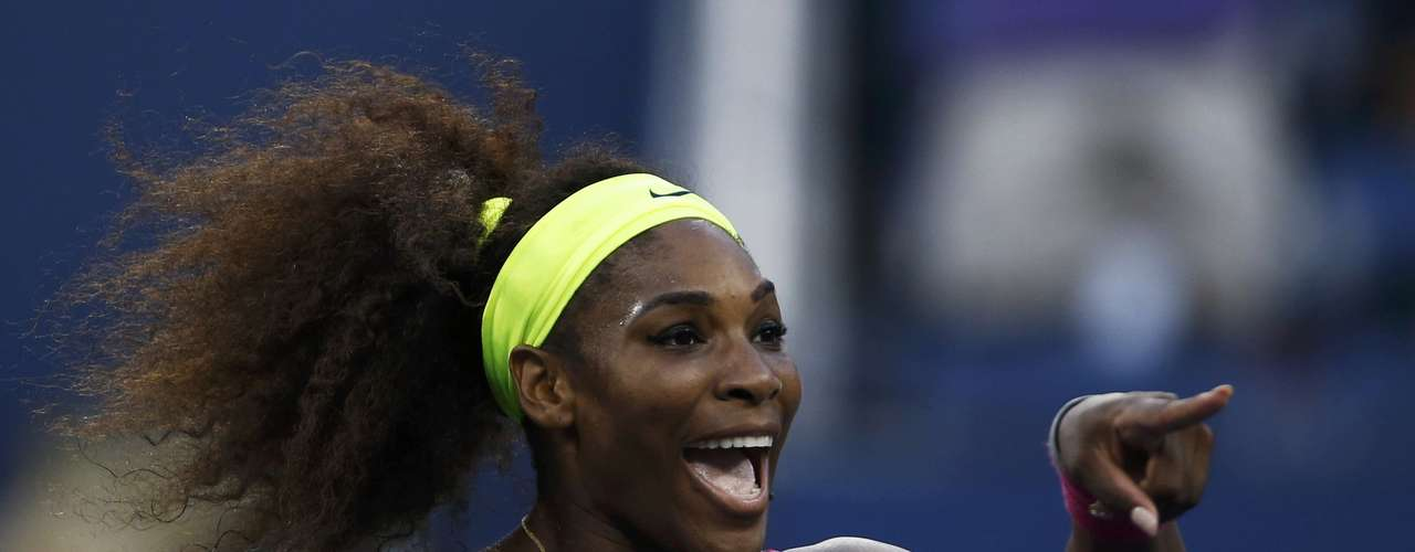 Serena Williams defeated Errani 6-1, 6-2 to reach the US Open final.