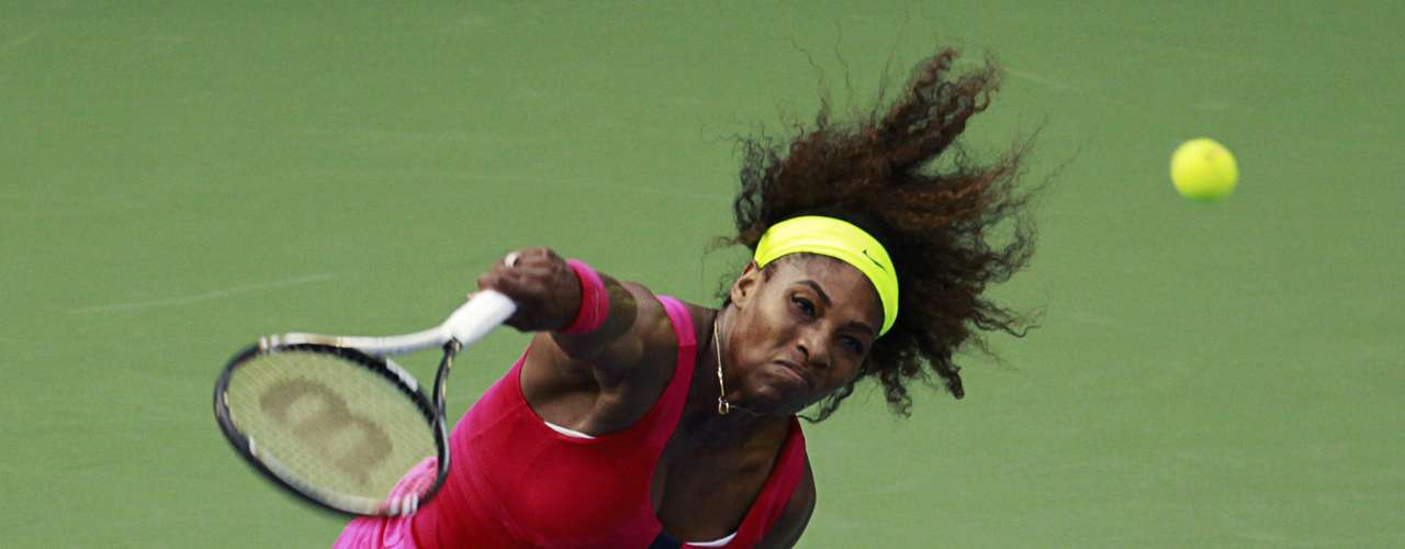 Williams has been dominant on her serve and in neutralizing her opponents.