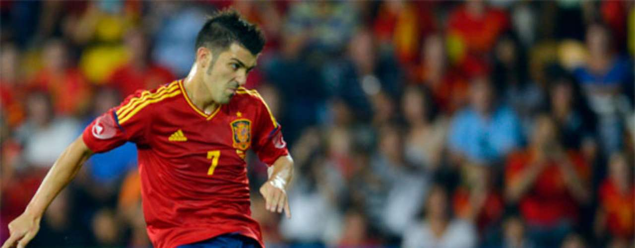 David Villa returned to the national team after missing eight months due to injury.