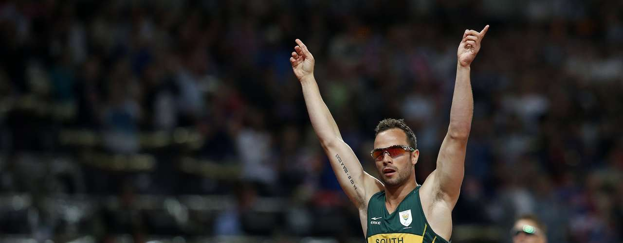 Pistorius had won siler in the 200-meters in controversial fashion.